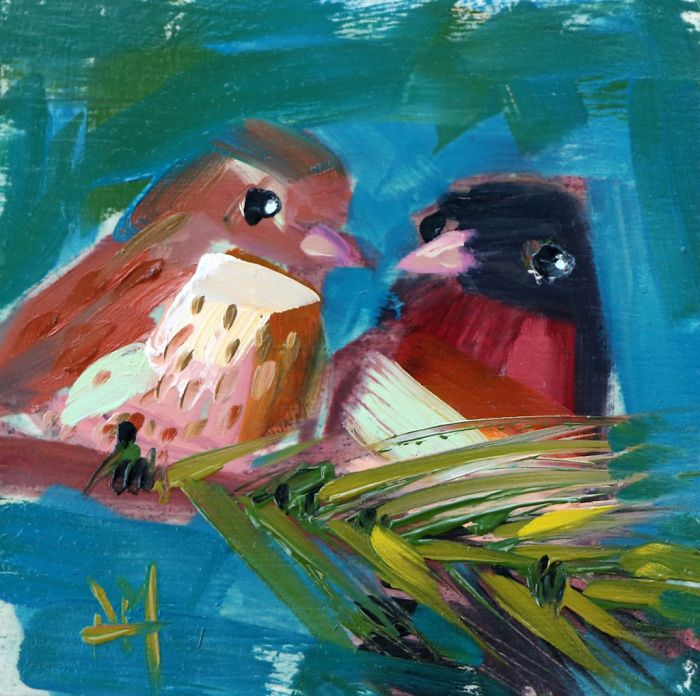 Oil-Paintings-Bird-Art-Angela-Moulton