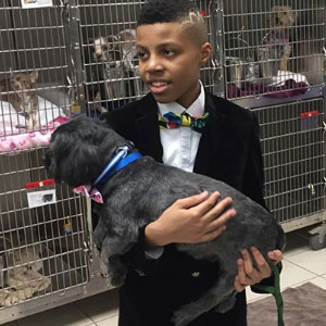 12-Year-Old Kid Makes Shelter Cats And Dogs Stylish Bow Ties To Help Them Find A Home