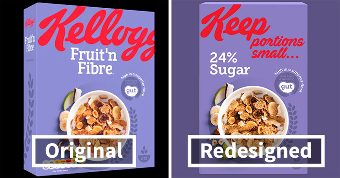 """We Designed Honest Labels For Well-Known Foods Marketed As """"Healthy"""" Options"""