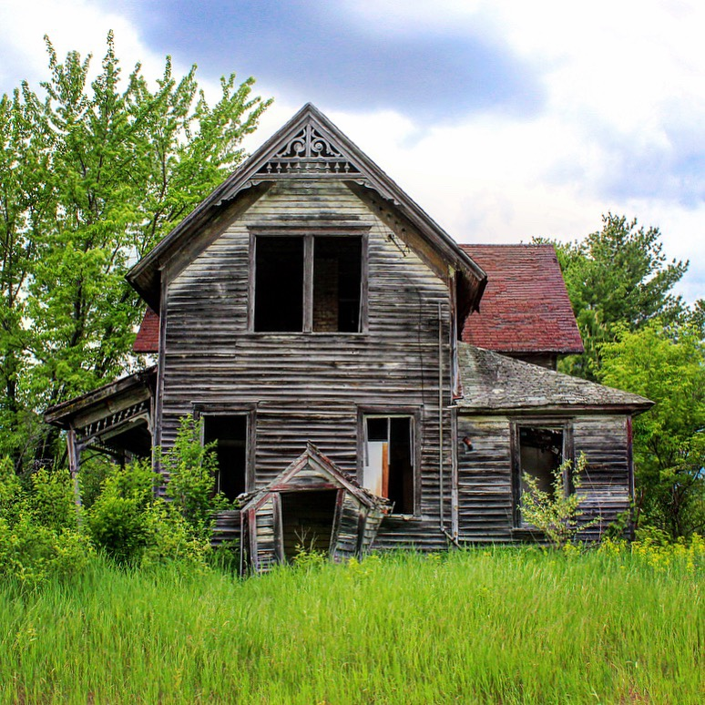 Abandoned Home Exteriors