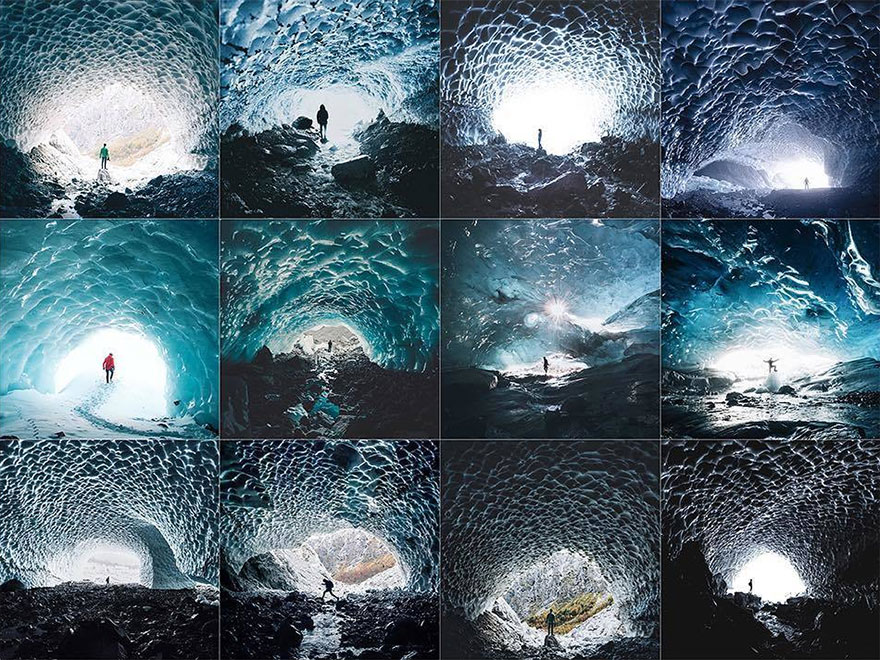 Person Centered In An Ice Cave