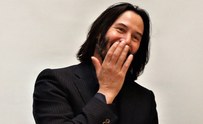 Keanu Learns He's The Internet's Boyfriend, And His Adorable Reaction Goes Viral