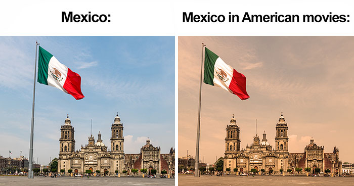 Someone Noticed Mexico In American Movies Always Looks The Same, Makes A Meme That Goes Viral (20 Pics)
