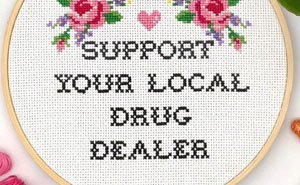Here Are 21 Of My Funny And Sassy Cross-Stitch Designs