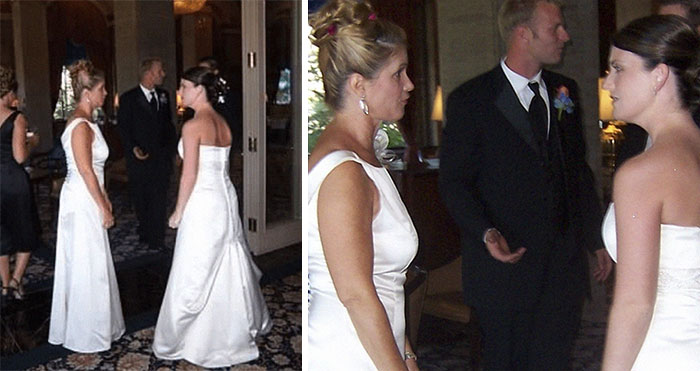 """My Mother-In-Law Wore A Wedding Dress To My Wedding"""