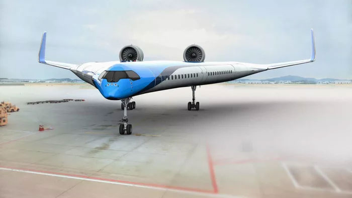 This Flying-V Airliner Was Designed By A Student And It Will Use 20% Less Fuel