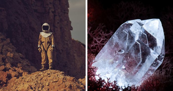 Our Crystal Lamps Look Like They're From Another Planet So We Imagined How We Harvest Them