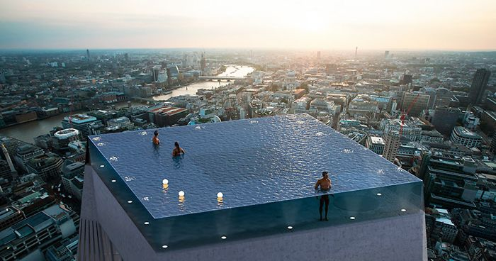 Company Designs World\'s First 360-Degree View Infinity Pool ...
