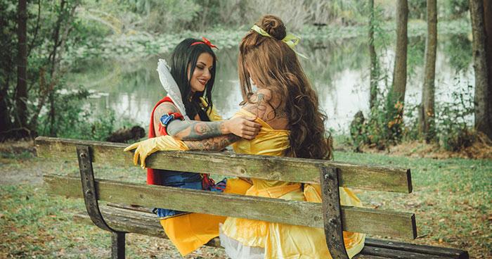 I Capture Disney Princesses That Don't Need Princes