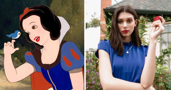 Muestro el aspecto de 10 princesas Disney si fueran chicas reales en 2019