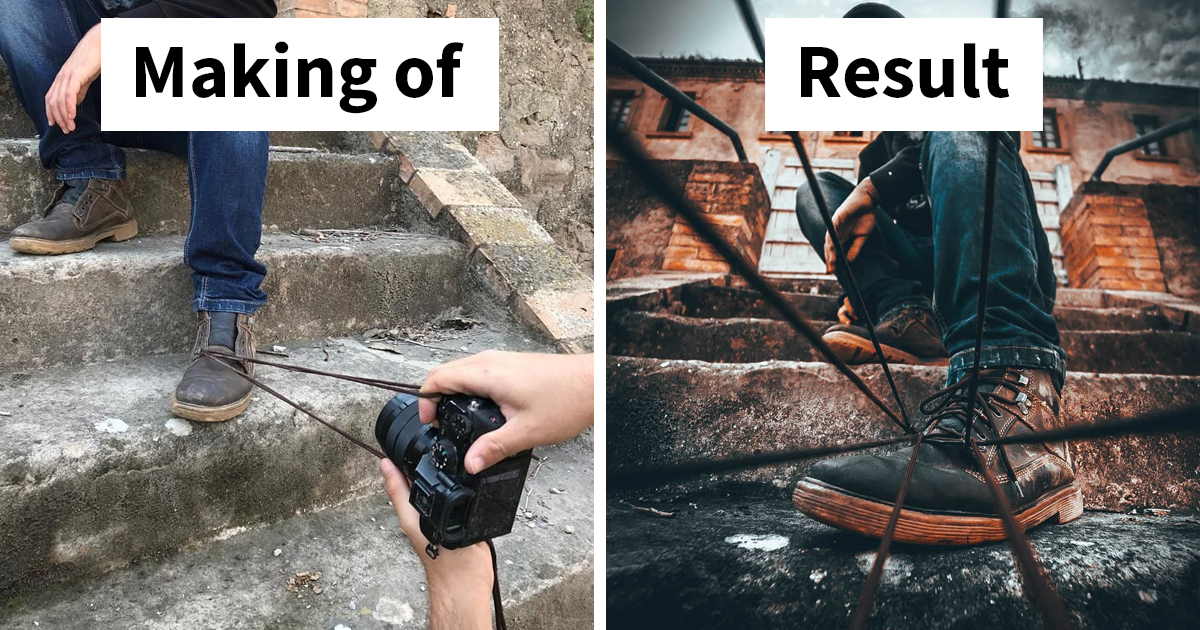 Photographer Uses Creative Tricks To Take Amazing Pictures (12 Pics)