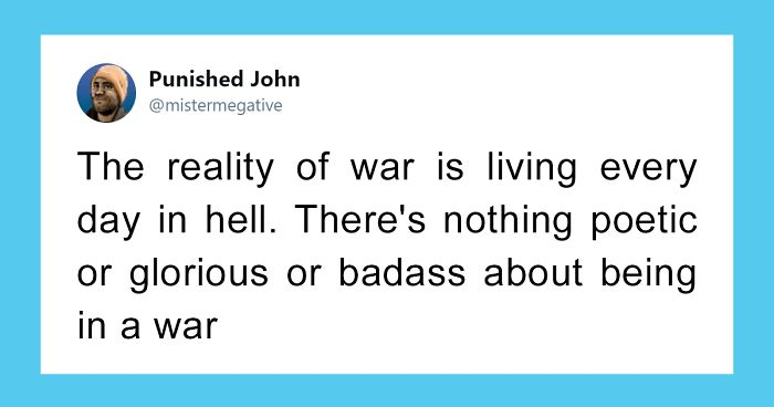"""Former Marine Gives A Reality Check To Everyone Who Enjoys """"Realistic"""" War Games"""
