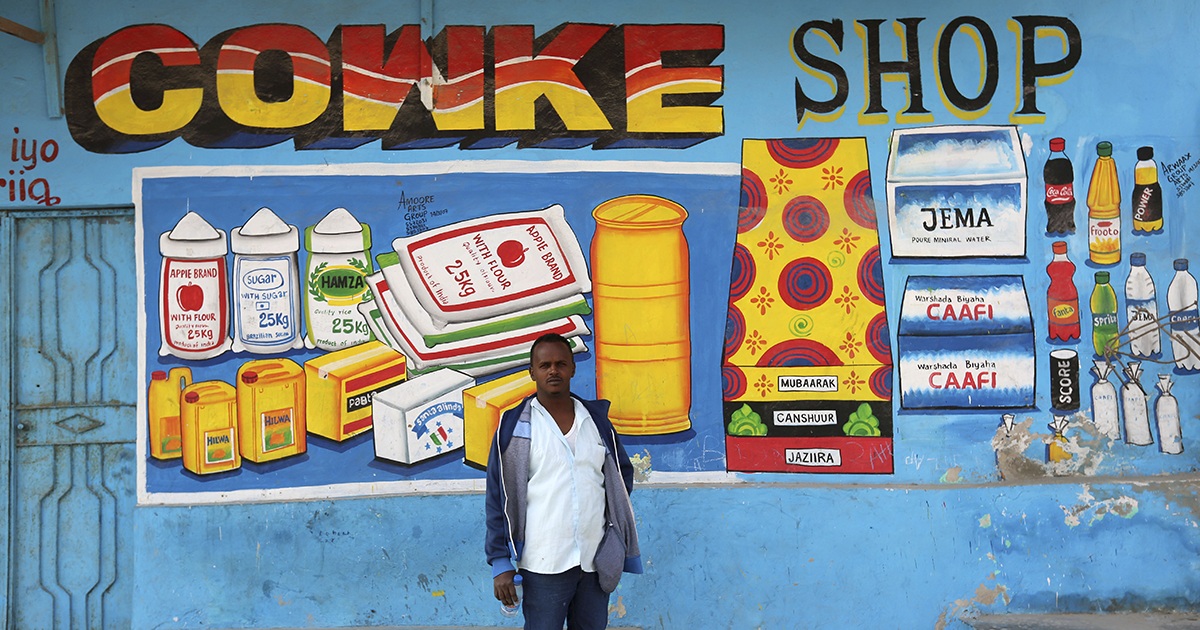 15 Vibrant Hand Painted Storefronts In Somalia