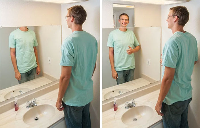 Fixing My Too-Low Bathroom Mirror