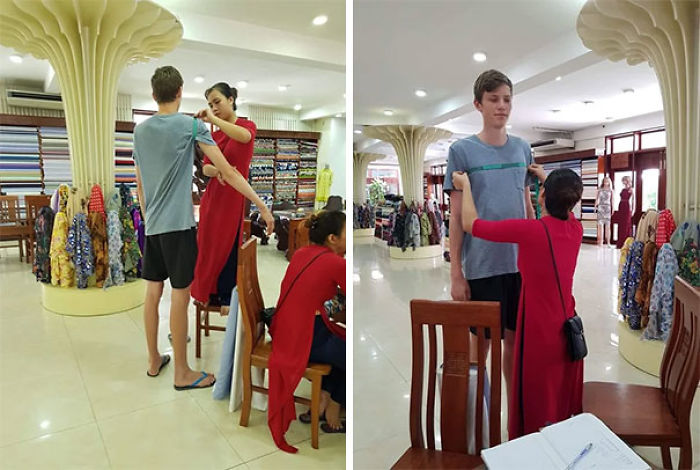 Getting A Shirt Tailored In Vietnam