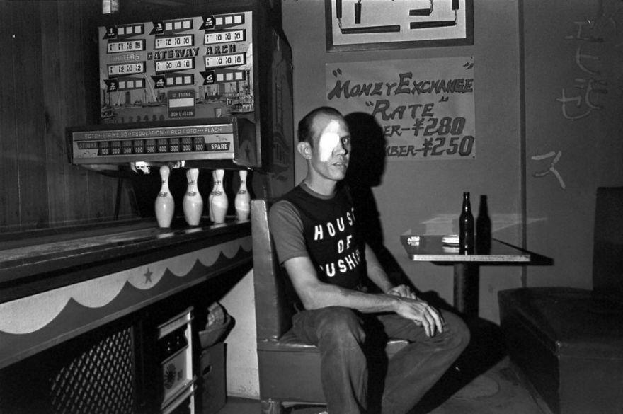 American Sailor In Bar, 1976