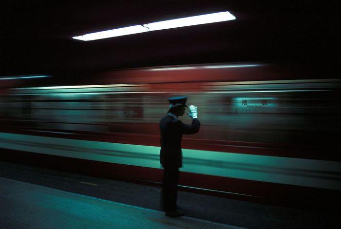 Ikebukuro Subway Station, 1976