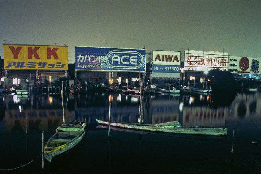 Canal Near Haneda Airport, 1979