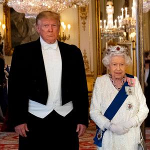 20 Divertidos memes sobre la visita de Trump a Reino Unido