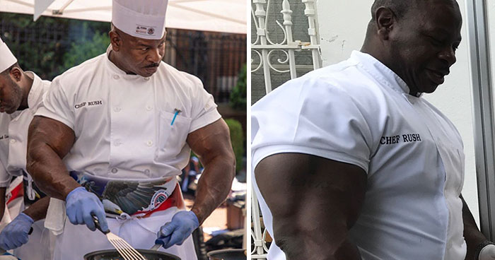 People Notice That This White House Chef Is Something Way Out Of The Ordinary, Even Start A Photoshop Battle