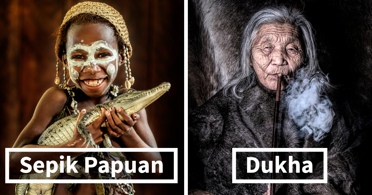 I Traveled For 10 Years To Photograph Indigenous People; Now Their Portraits Are Exhibited At The United Nations