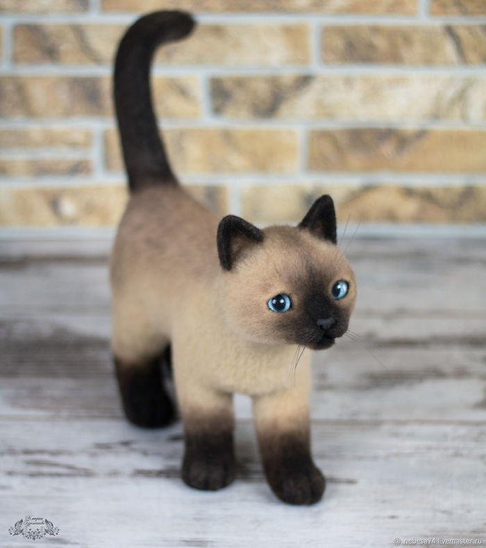Extremely Cute Toys That Seem To Be Alive: Felted Animals By Katerina Salomatina