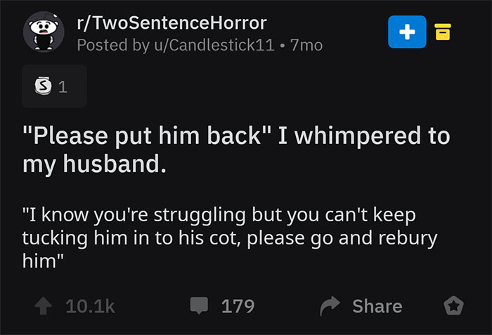 Two-Sentence-Horror-Stories