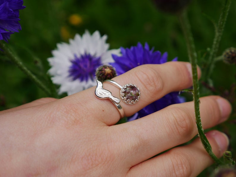 I Hand Pick Flowers From All Over Scotland And Preserve Them Into Breath Taking Jewellery