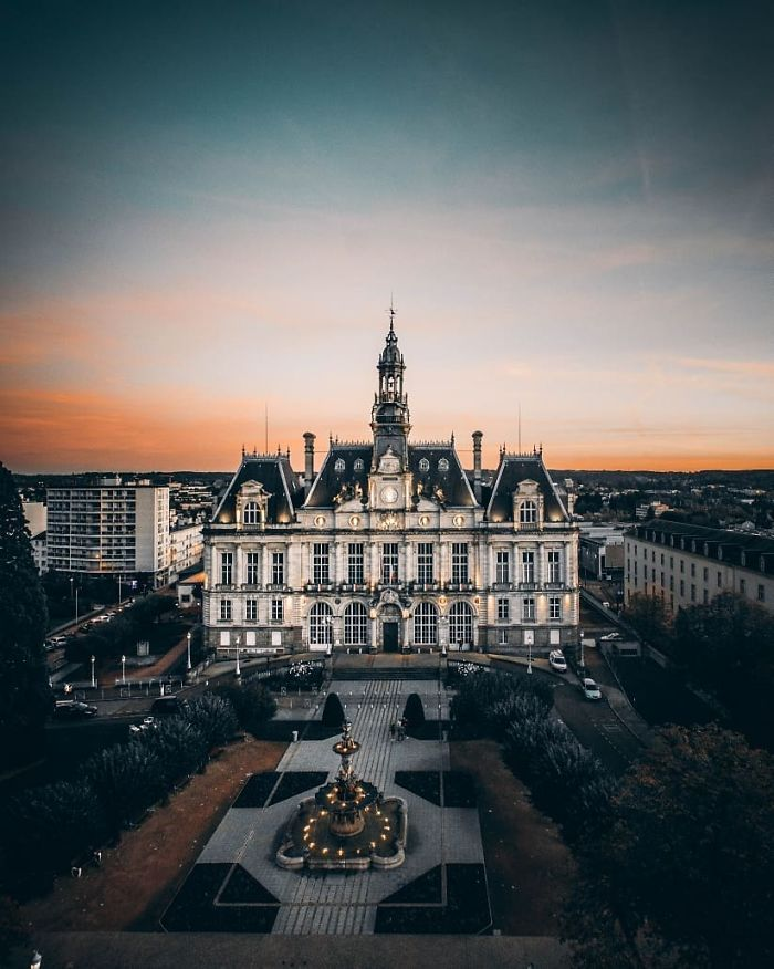 Sunset Over Limoges
