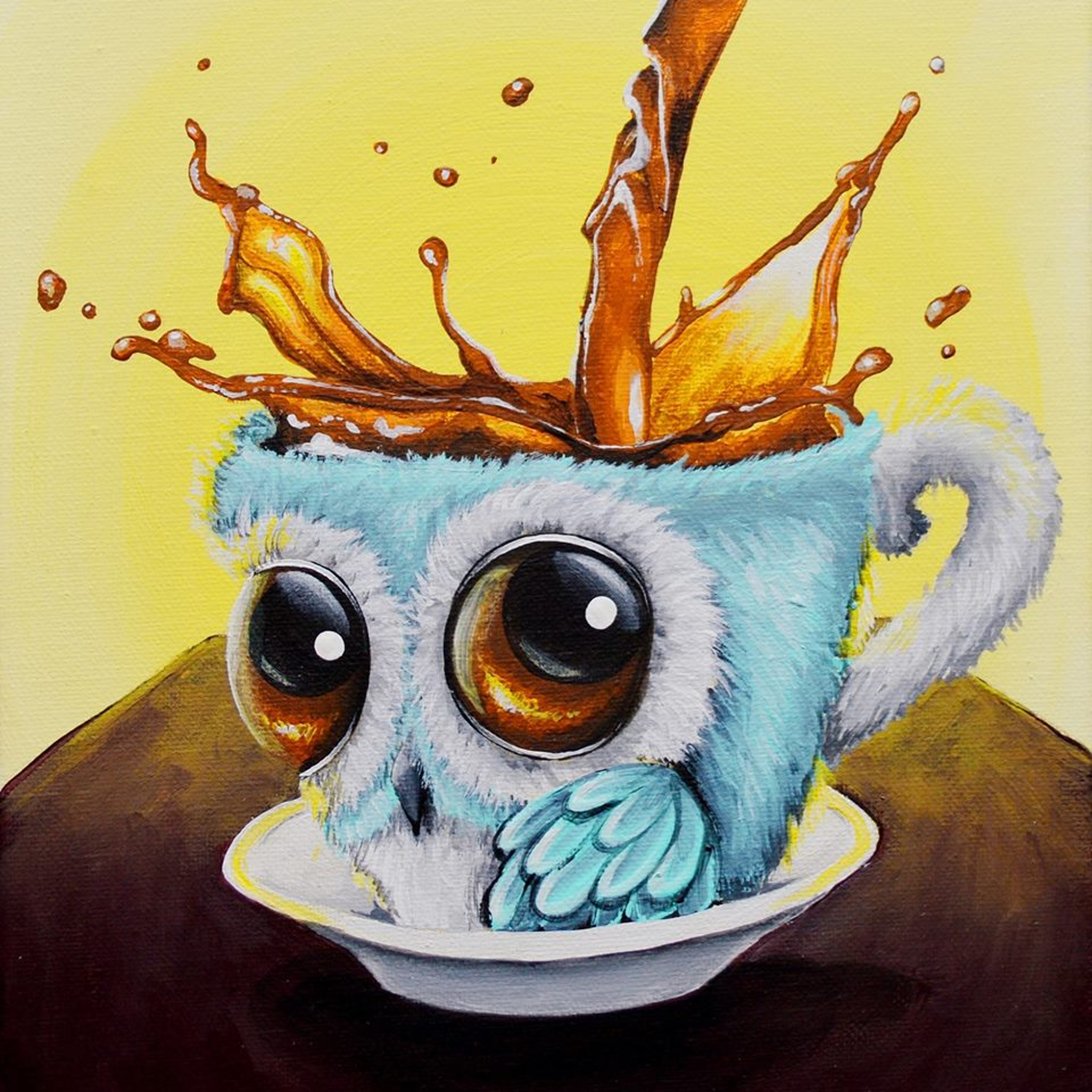 I Love Owls , I Paint Them All The Time :)
