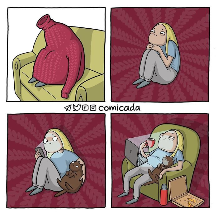 Russian Artist Illustrates Annoying Girl Problems And Other Things In 30 Comics (New Pics)