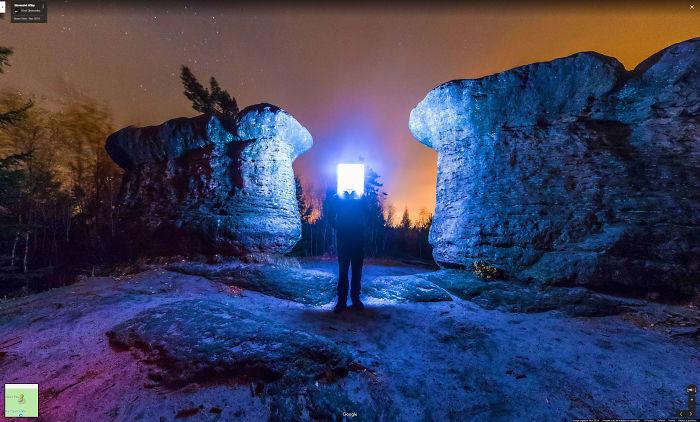 Broumovske Stěny, Kamienne Hriby