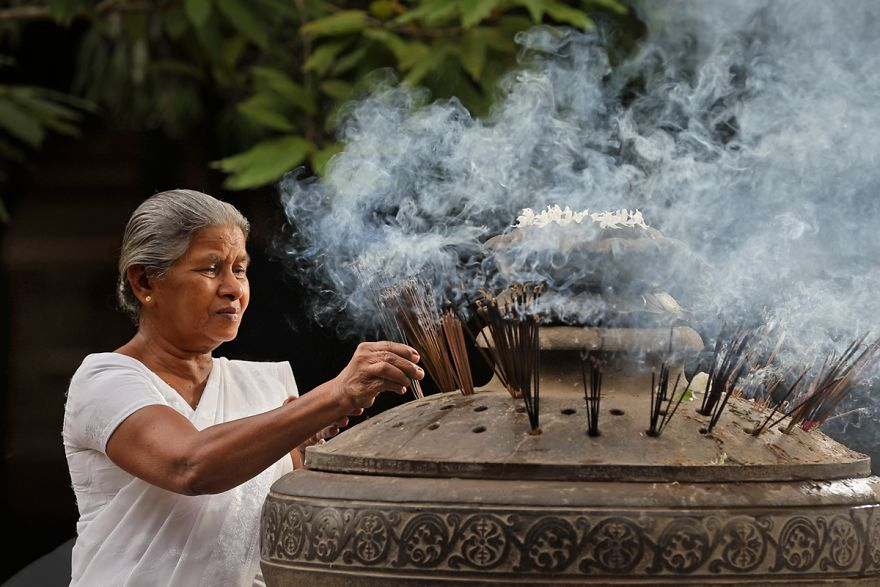 Mother And Incense