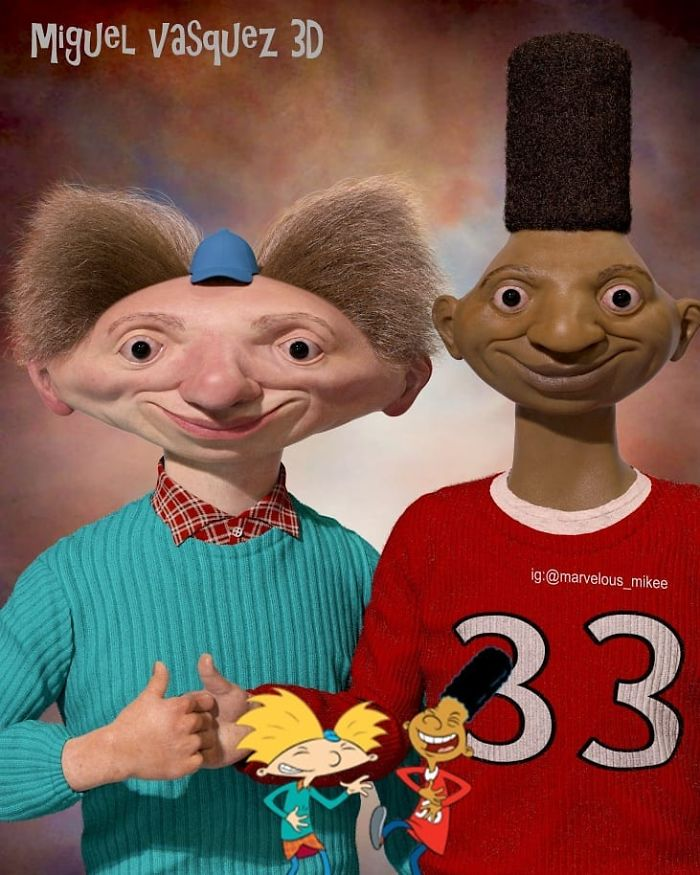 Arnold And Gerald