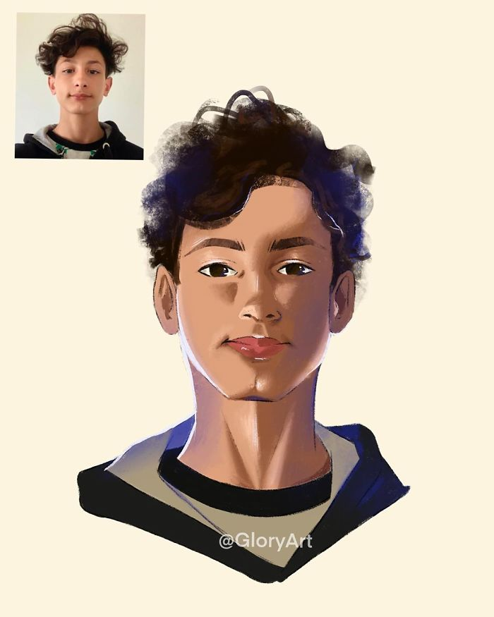 I Turn Regular People Into Illustrated Characters