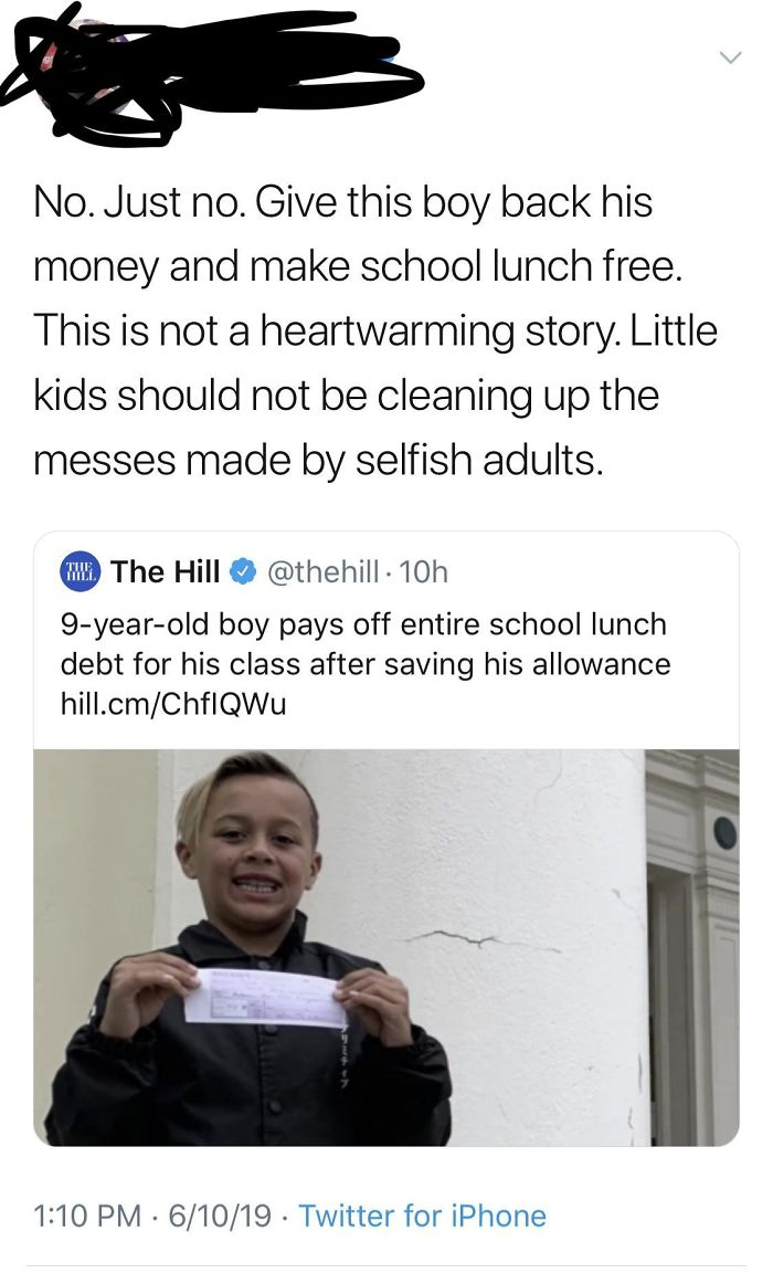 School Lunch Should Just Be Free