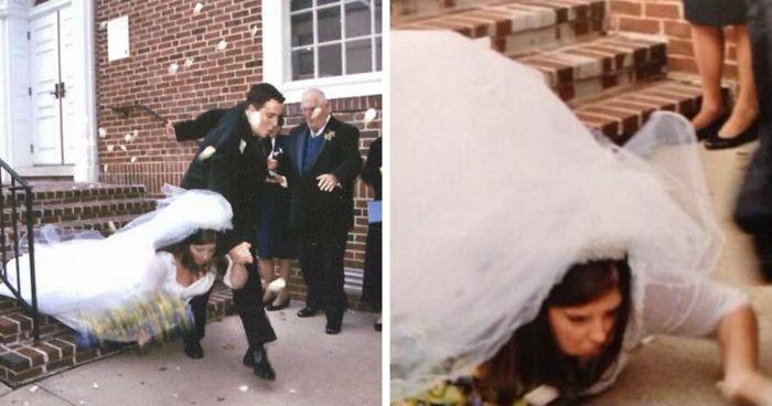 Bilderesultat for fail wedding photos