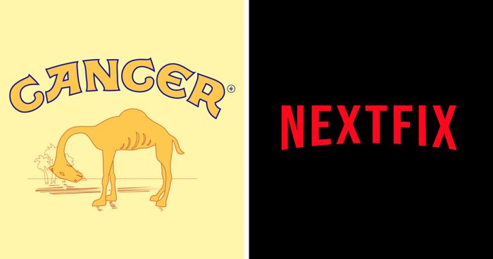 My 30 Honest Logos That Show The Truth About Famous Companies