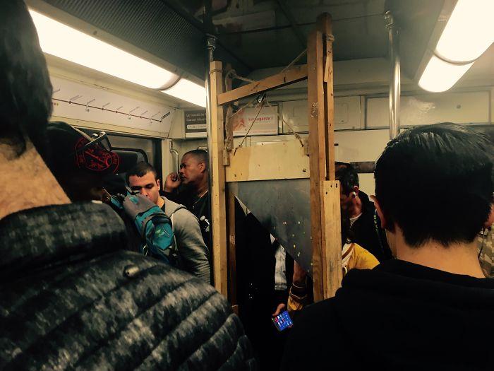 Underground Cutting Edge Technology (Paris, Line 11 Tonight)