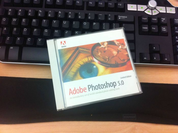 So I've Been Bugging My Boss About Getting Photoshop Cs5. I Came In Today And...