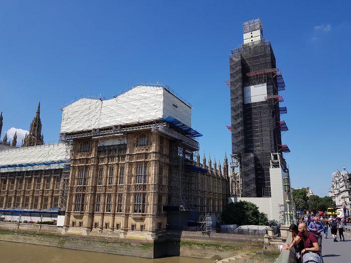 He viajado miles de kms para ver el Big Ben