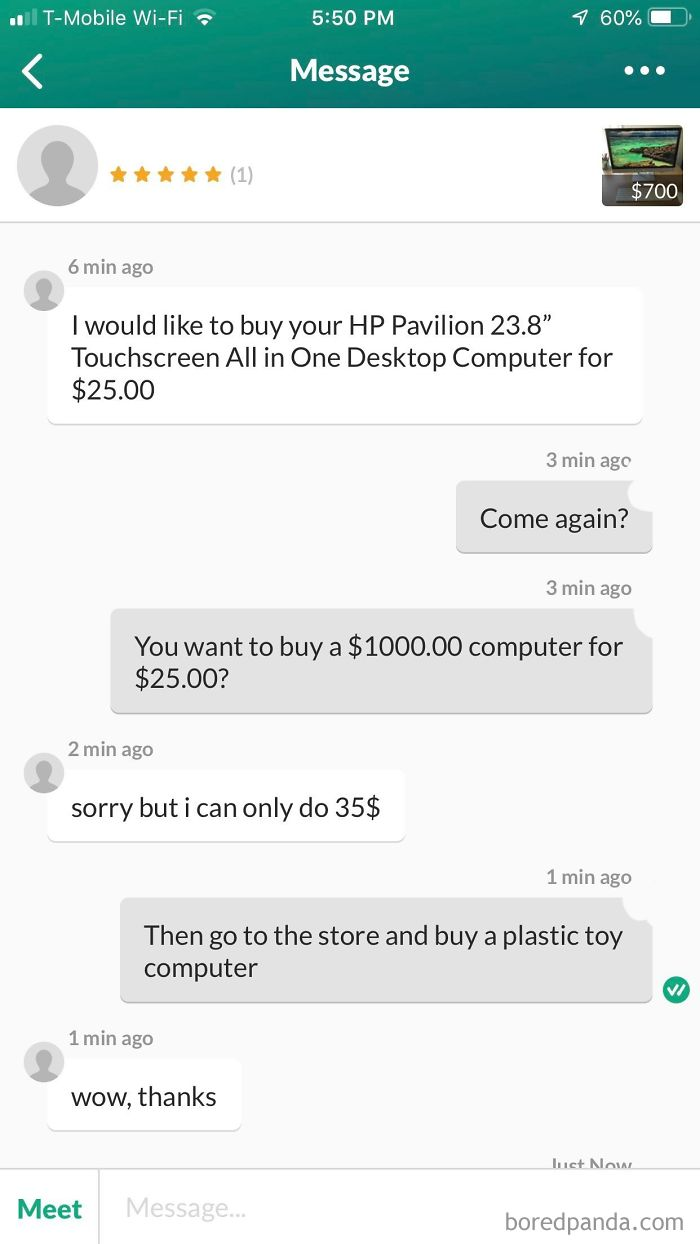Lady Wants Barely-Used Computer For $25