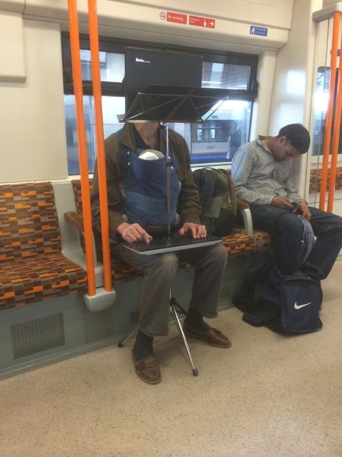 So This Happened On The Tube In London