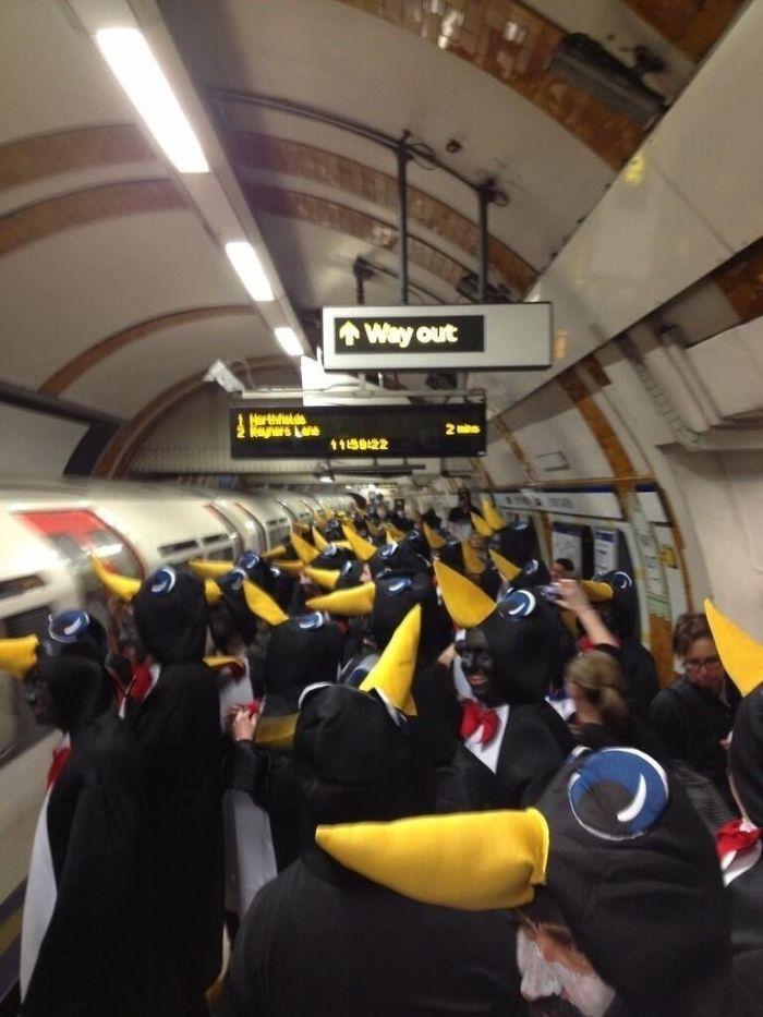 London Underground Seems Weird Today