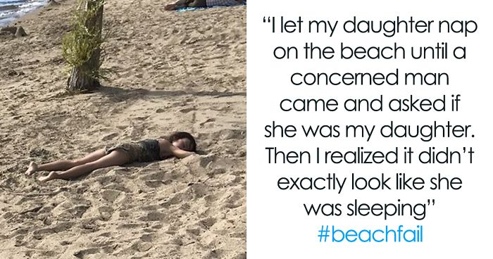 55 Of The Worst And Funniest Beach Fails Shared For Jimmy Fallon's Challenge