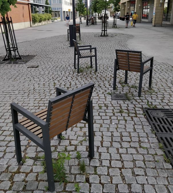 Meanwhile Park Benches In Finland