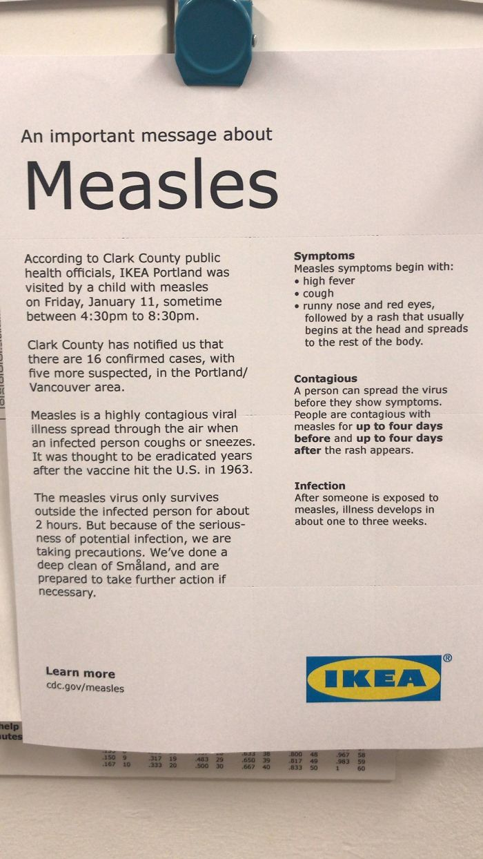 Someone Took Their Measles-Infected Kid To The Play Area At IKEA