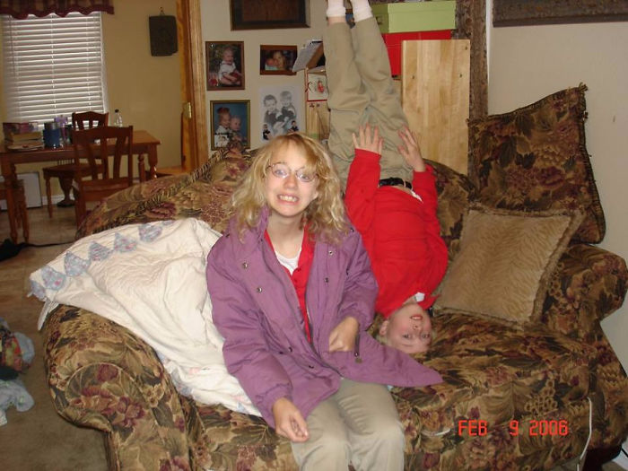 2006 Was Not The Prettiest Year Of My Childhood. Or My Brother's, For Different Reasons