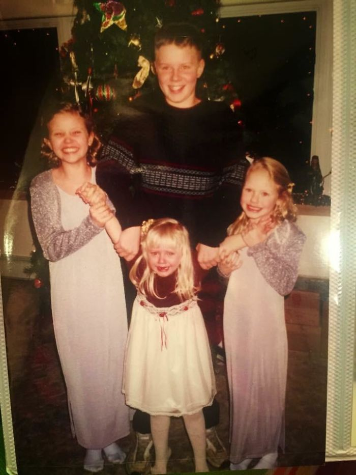 Since It's Apparently National Siblings Day, Here's A Heartwarming Photo Of Me And My Siblings