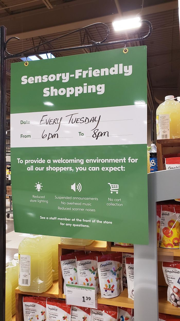 "Grocery Store In Summerside, PEI (Canada) Has ""Sensory Friendly Shopping"""